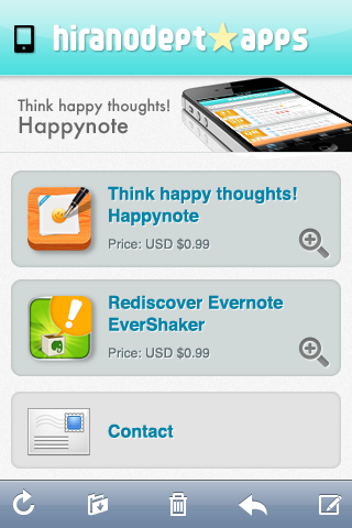 hiranodept apps